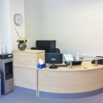 Lancaster reception area